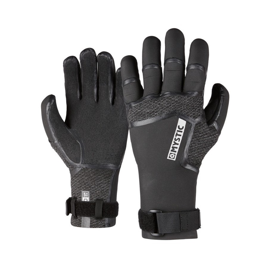 guantes de neopreno Supreme Glove 5mm 5Finger Precurved 2020 Mystic