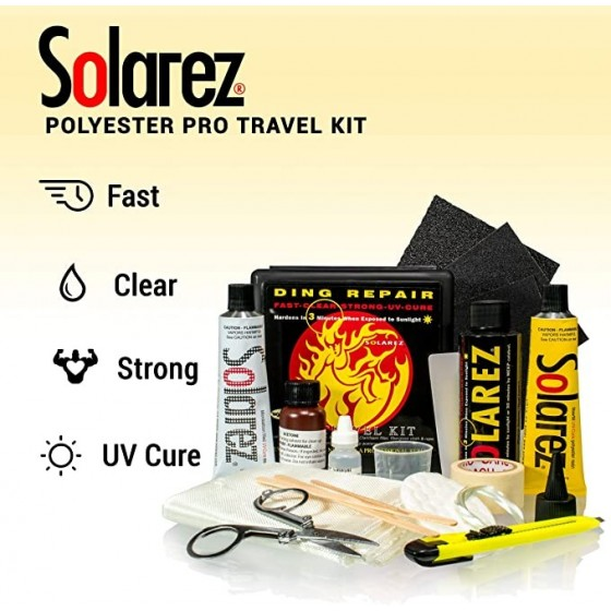 Solarez Polyester Pro Travel Kit